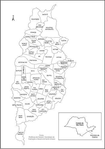 Guincho Osasco Mapa