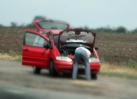 Não tente arrumar o carro