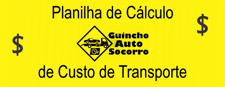 Planilha de Cálculo de Custo de Transporte