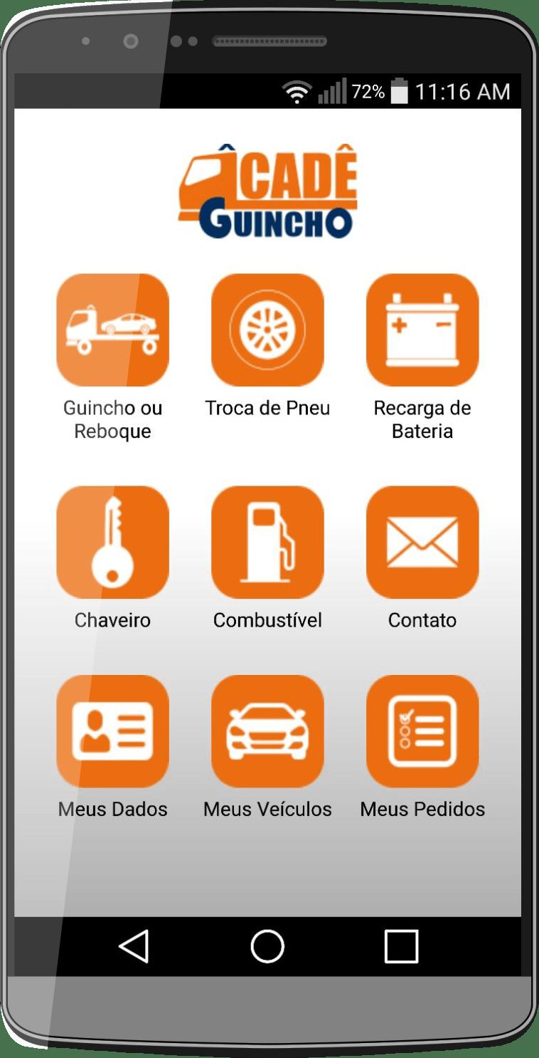 aplicativo de guincho